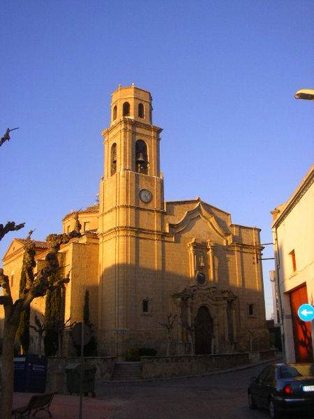 parroquia de lassumpcio de la mare de deu torres de segre