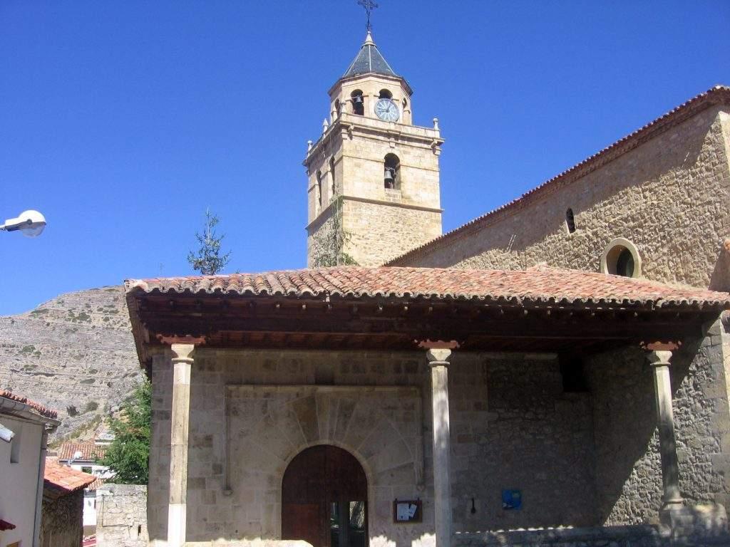 parroquia de los santos justo y pastor villar del cobo