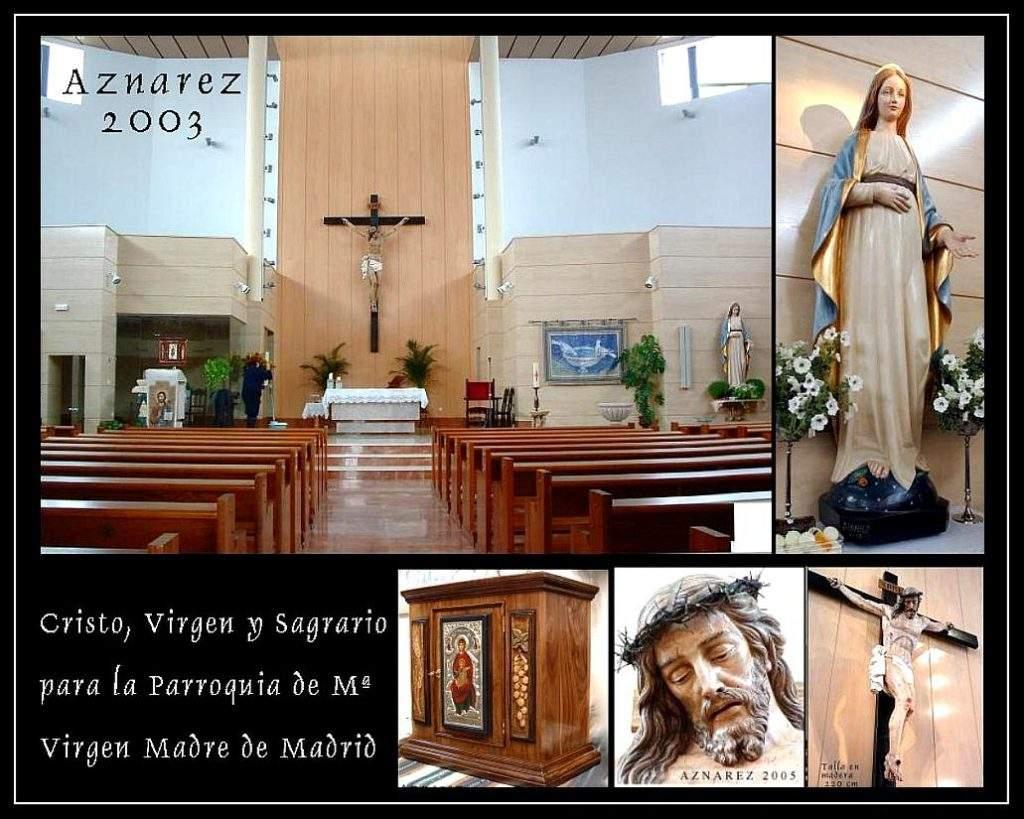parroquia de maria virgen madre madrid