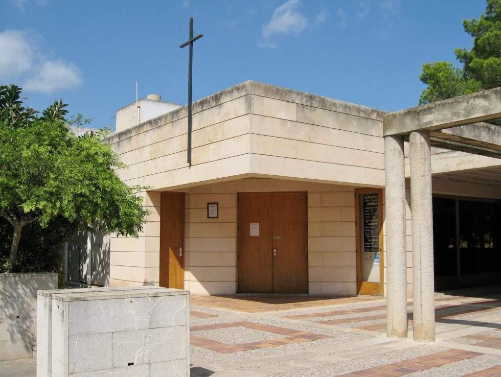 parroquia de nostra senyora dels angels cala millor