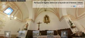parroquia de nuestra senora de la asuncion el romeral