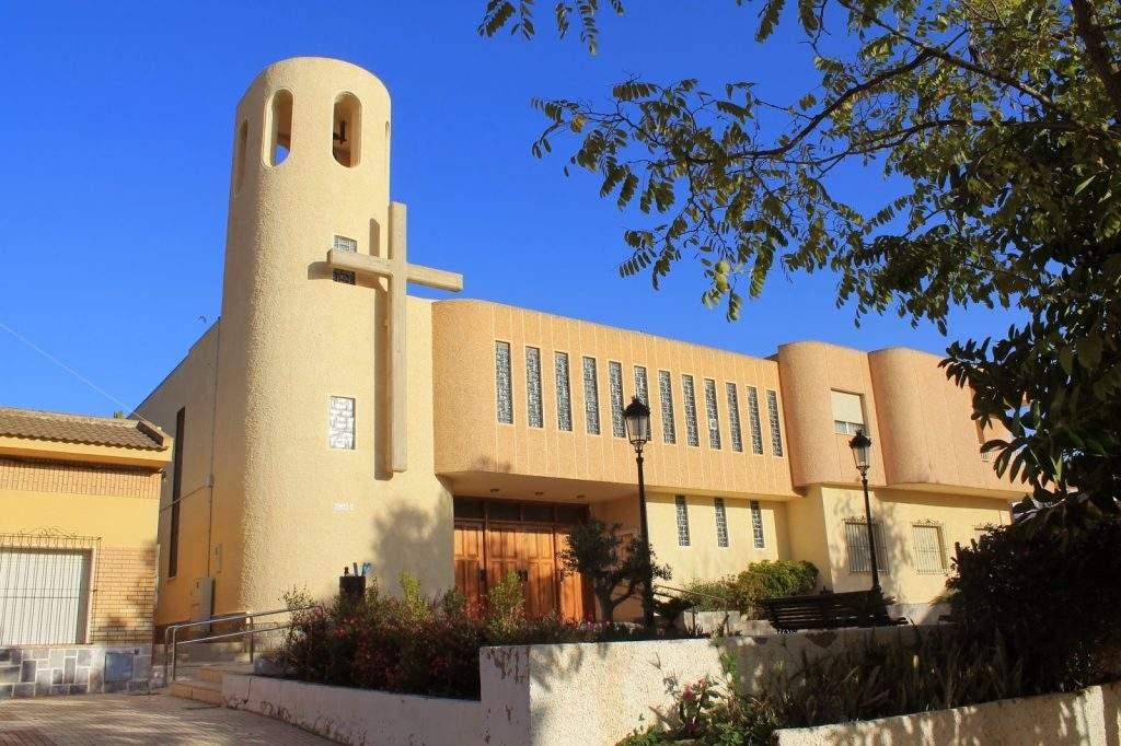 parroquia de nuestra senora de la soledad molinos marfagones cartagena