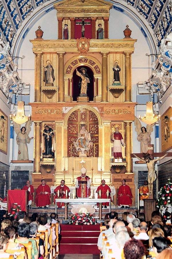 parroquia de nuestra senora de los angeles chulilla