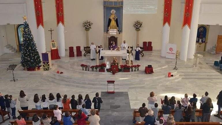 parroquia de nuestra senora de los angeles y san jose de calasanz montequinto