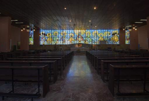 parroquia de nuestra senora de los desamparados y san lucas madrid