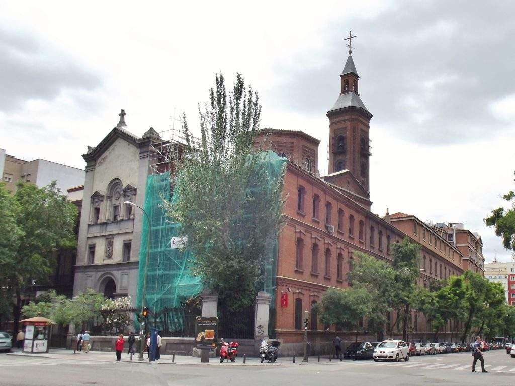 parroquia de nuestra senora de los dolores madrid