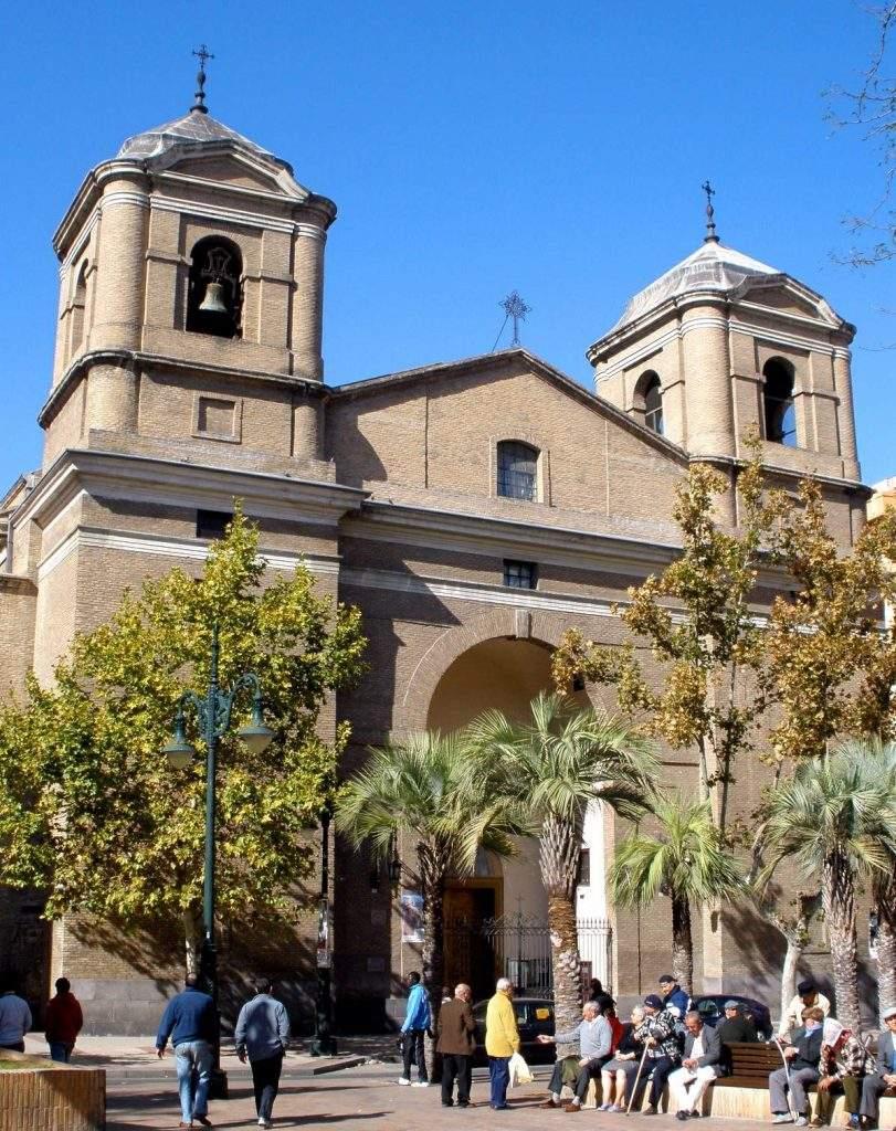 parroquia de nuestra senora del portillo zaragoza