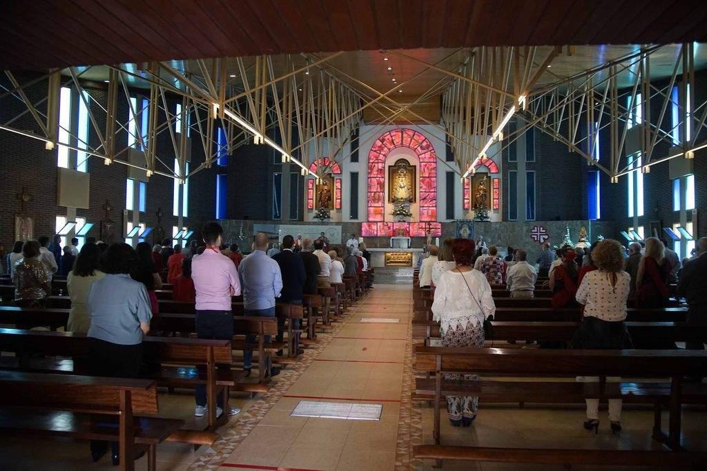 parroquia de nuestra senora del rocio vigo
