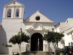 parroquia de nuestra senora del rosario alcaucin