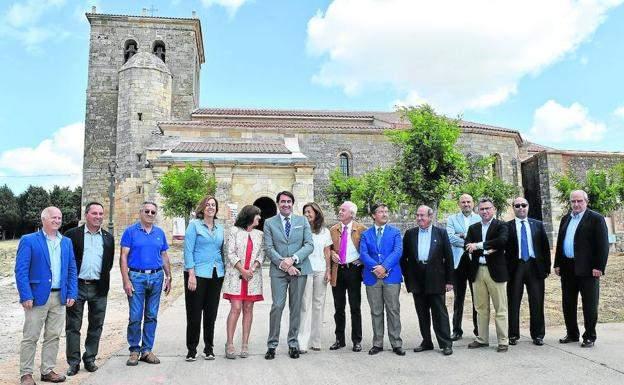 parroquia de pradanos de ojeda pradanos de ojeda