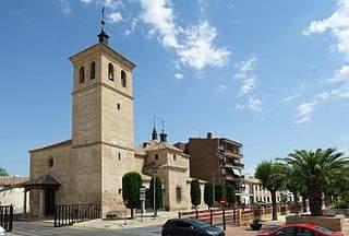 parroquia de san andres villaluenga de la sagra