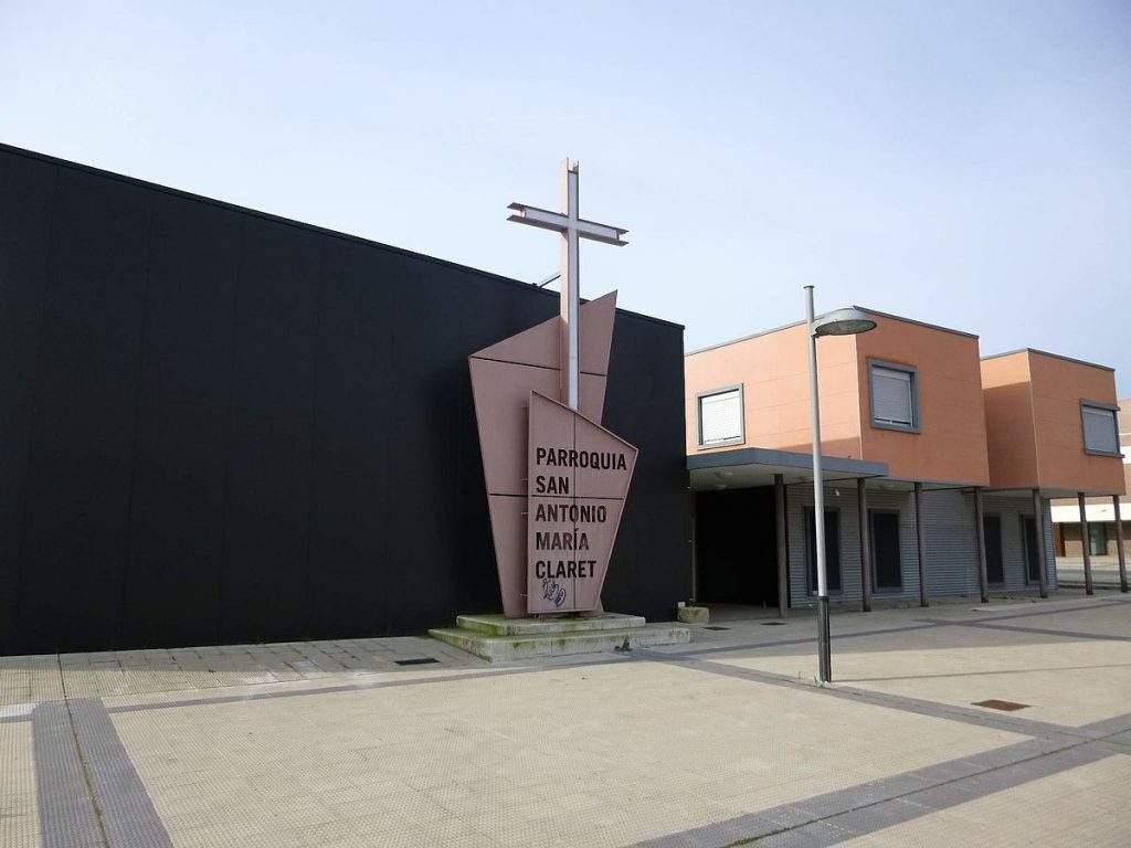 parroquia de san antonio maria claret pamplona