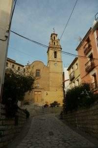 parroquia de san bartolome finestrat