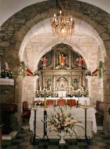 parroquia de san esteban de cesullas cabana de bergantinos 1