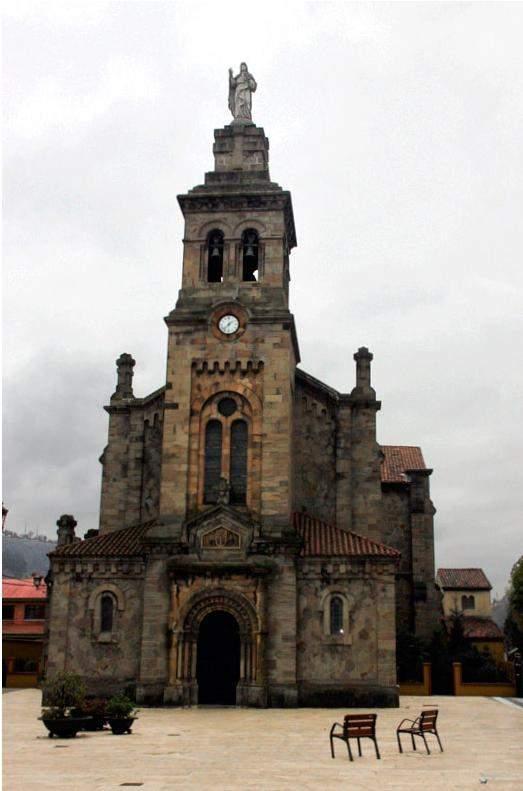parroquia de san esteban de ciano sama de langreo