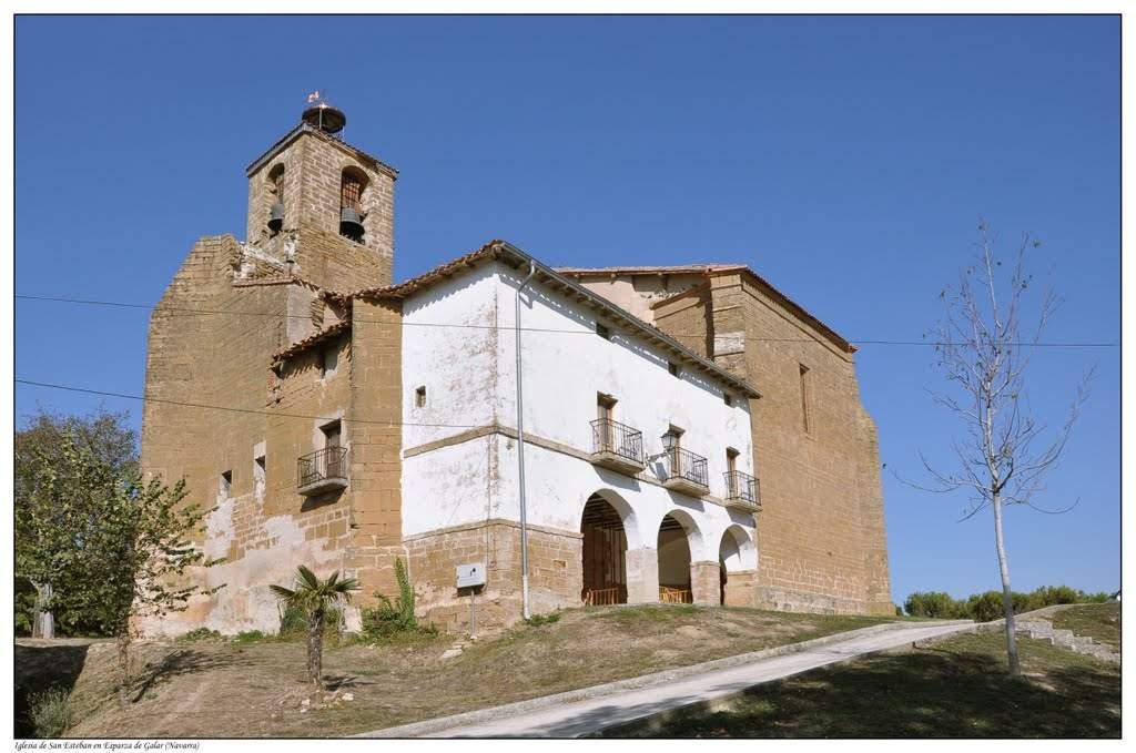 parroquia de san esteban esparza de galar