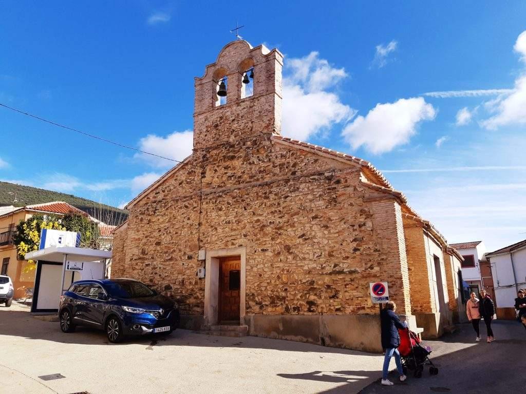 parroquia de san ildefonso el hoyo