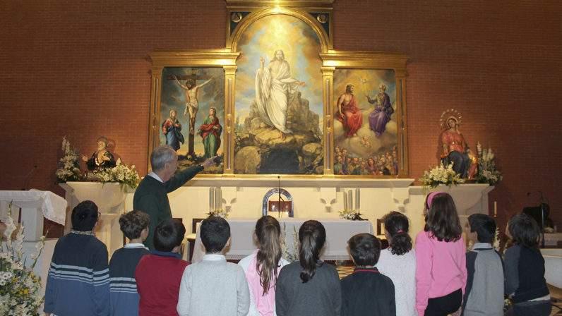 parroquia de san jose y santa maria padres filipenses sevilla