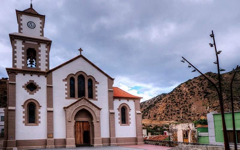 parroquia de san juan bautista vallehermoso