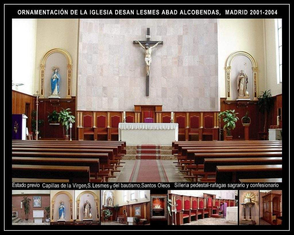 parroquia de san lesmes abad alcobendas