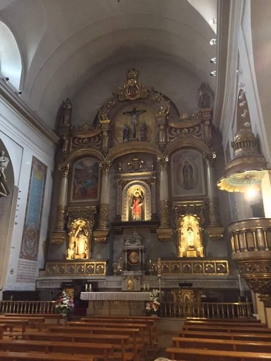 parroquia de san lorenzo pamplona