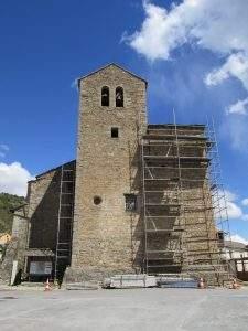 parroquia de san lorenzo yebra de basa