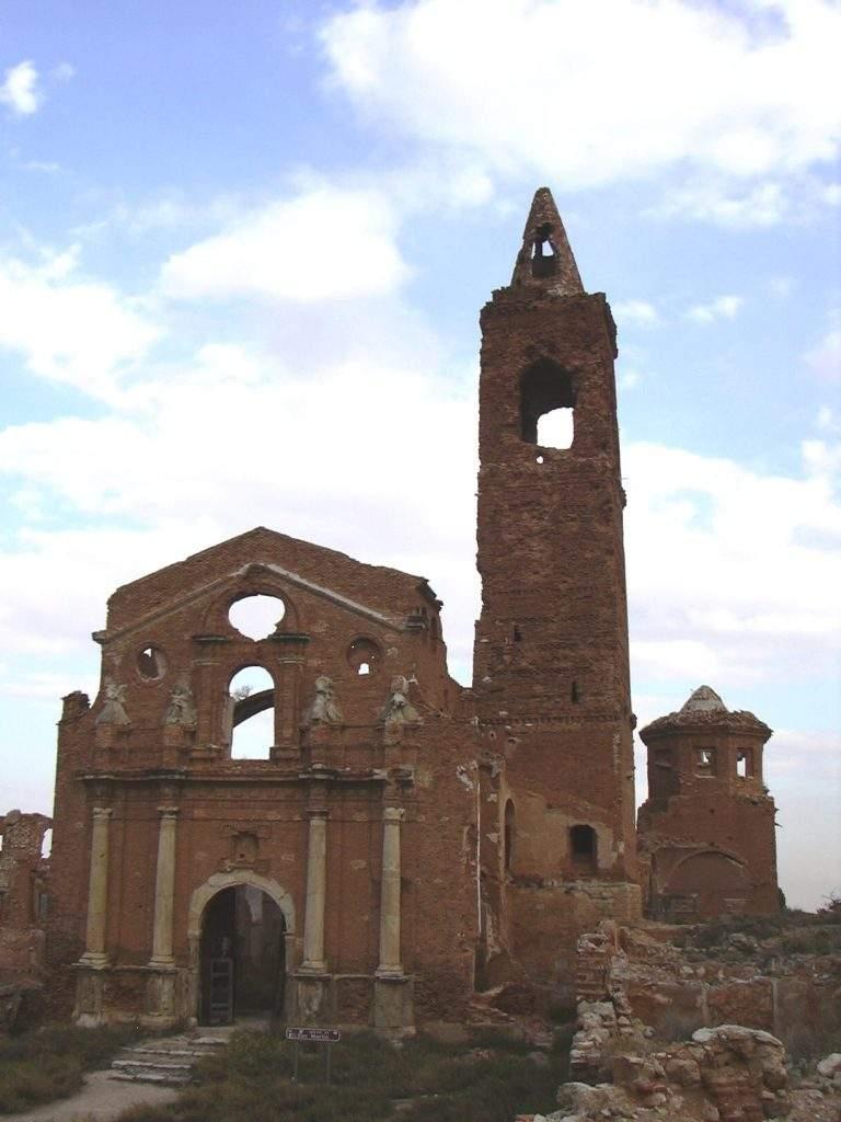 parroquia de san martin de tours belchite