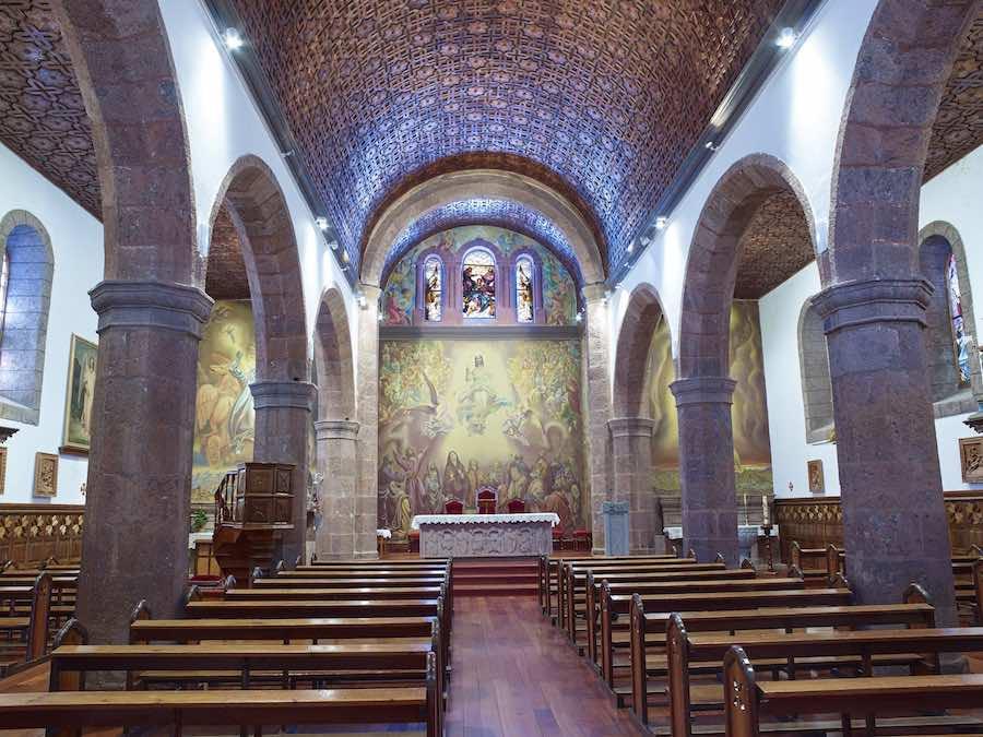 parroquia de san matias artenara