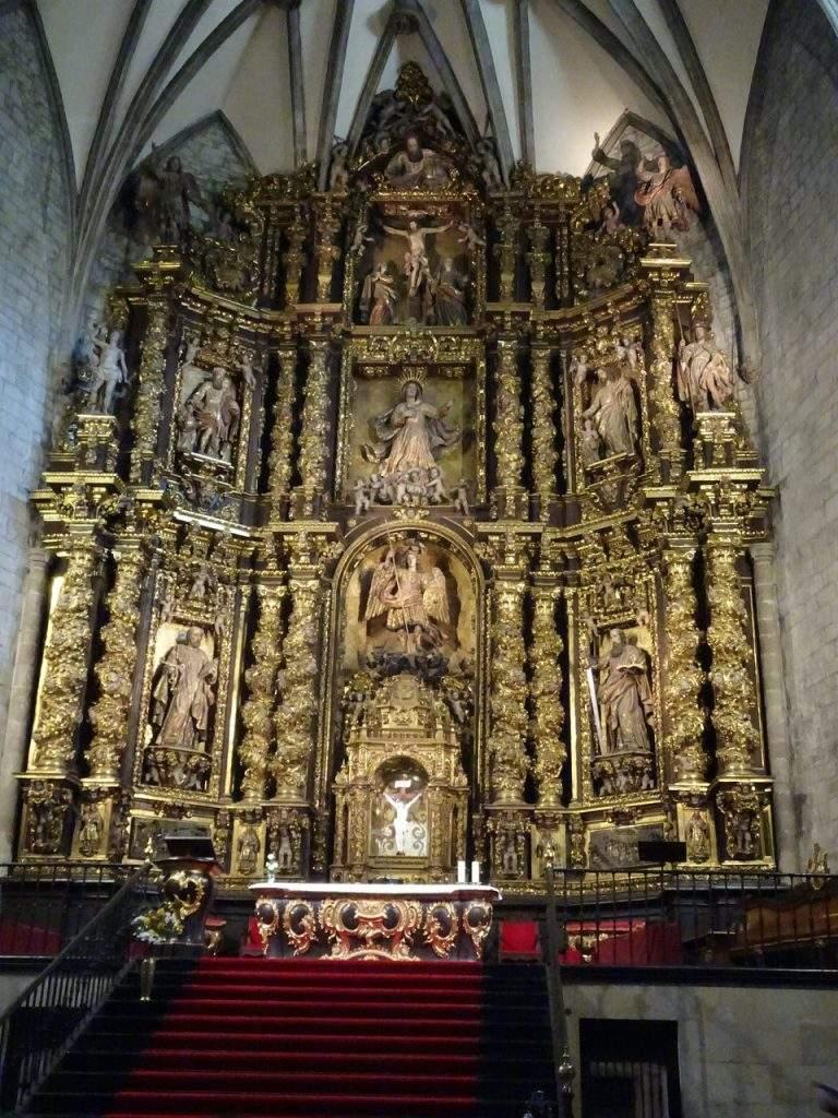 parroquia de san miguel amescoa baja
