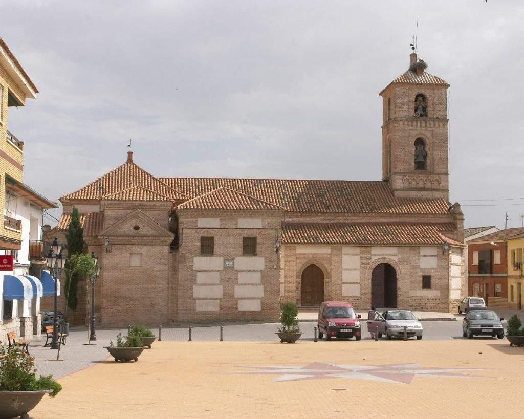 parroquia de san miguel arcangel el carpio de tajo