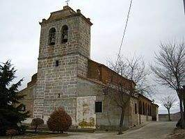 parroquia de san miguel arcangel nava de sotrobal