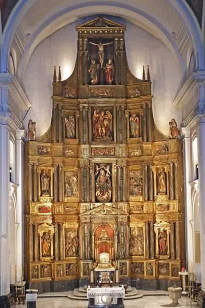parroquia de san miguel arcangel pamplona