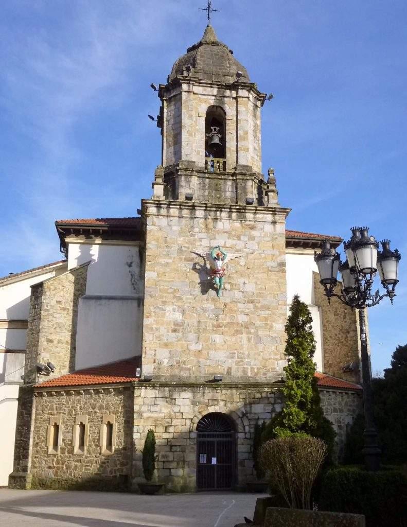 parroquia de san miguel arcangel zalla