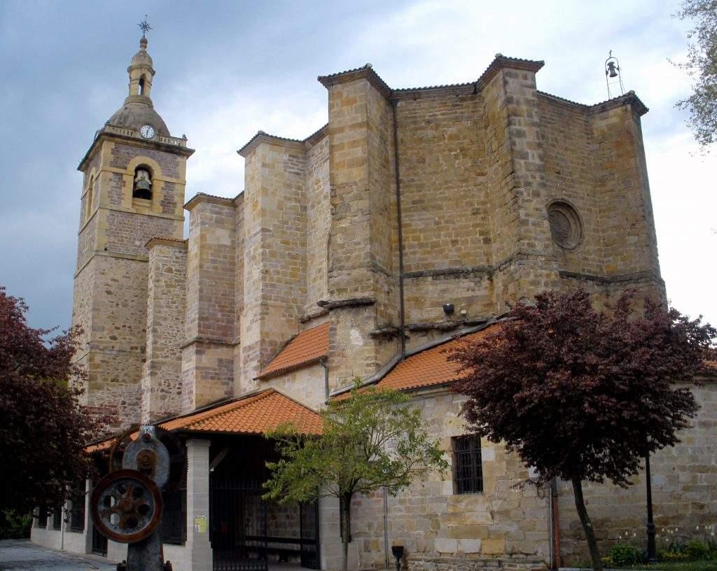 parroquia de san miguel olaldea