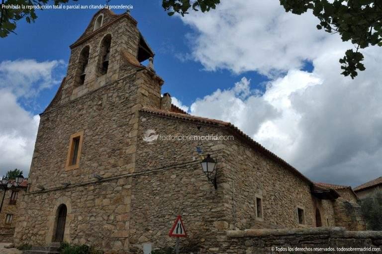 parroquia de san nicolas de bari horcajuelo de la sierra