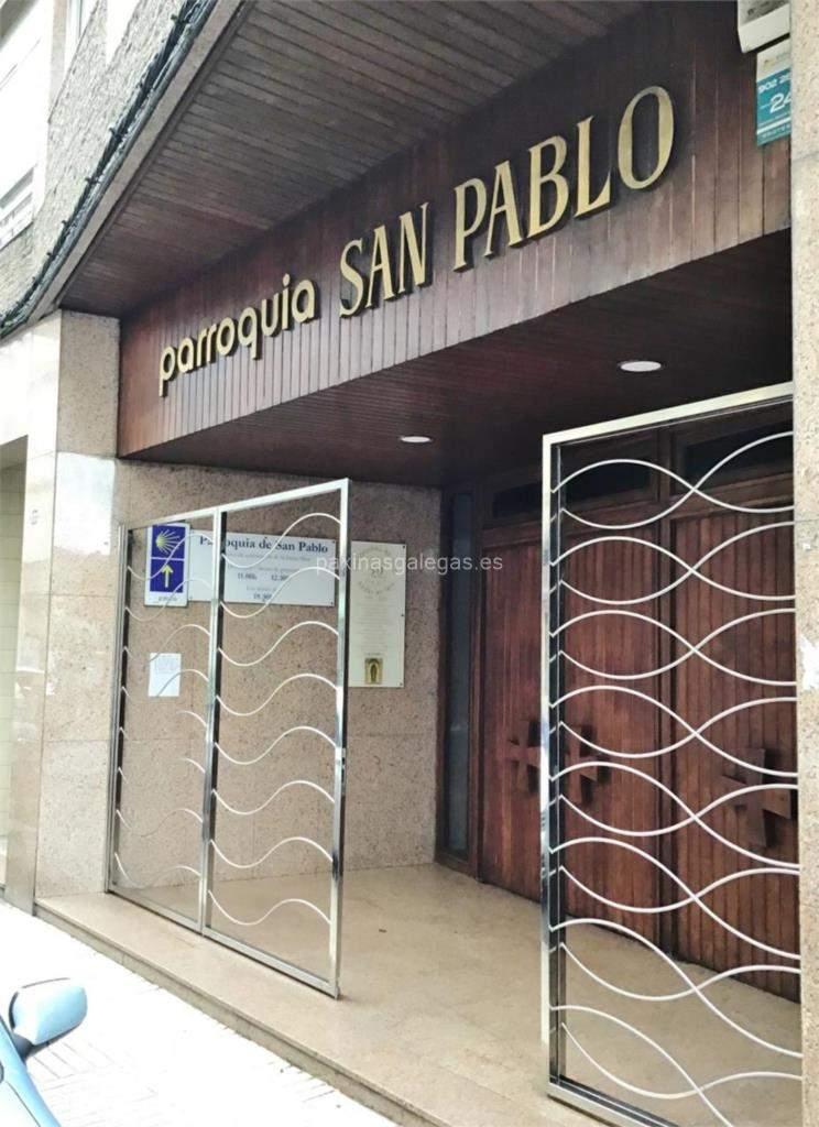 parroquia de san pablo vigo