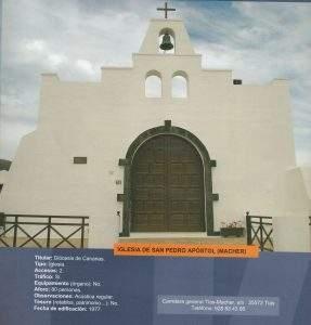 parroquia de san pedro apostol macher tias