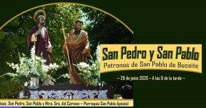 parroquia de san pedro y san pablo apostoles san pablo de buceite