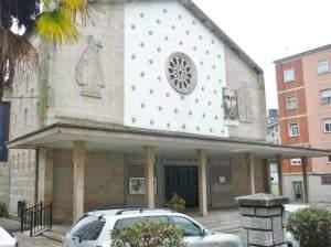Parroquia de San Pío X (Mariñamansa) (Ourense)