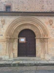 parroquia de san roman cerezo de abajo
