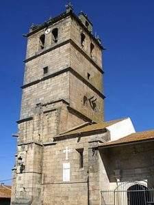 parroquia de san salvador aldeadavila de la ribera