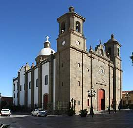 parroquia de san sebastian aguimes