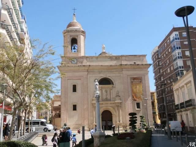 parroquia de san sebastian almeria