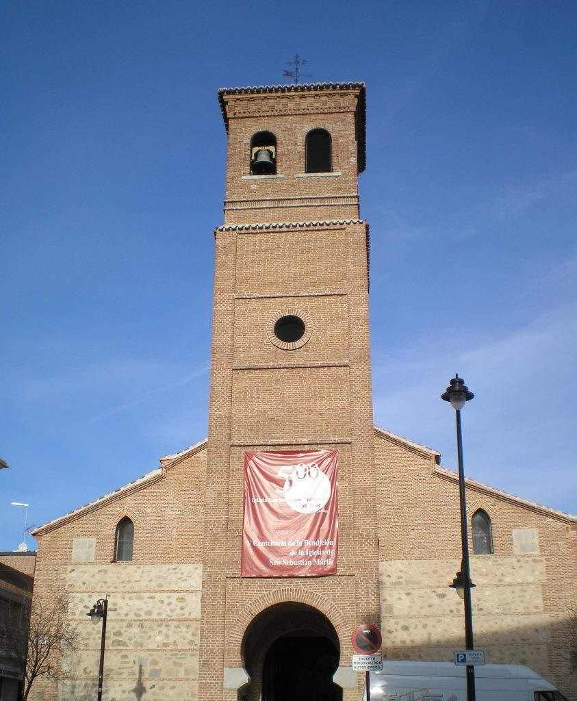 parroquia de san sebastian martir san sebastian de los reyes