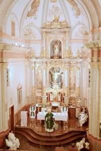 parroquia de san sebastian martir sot de chera