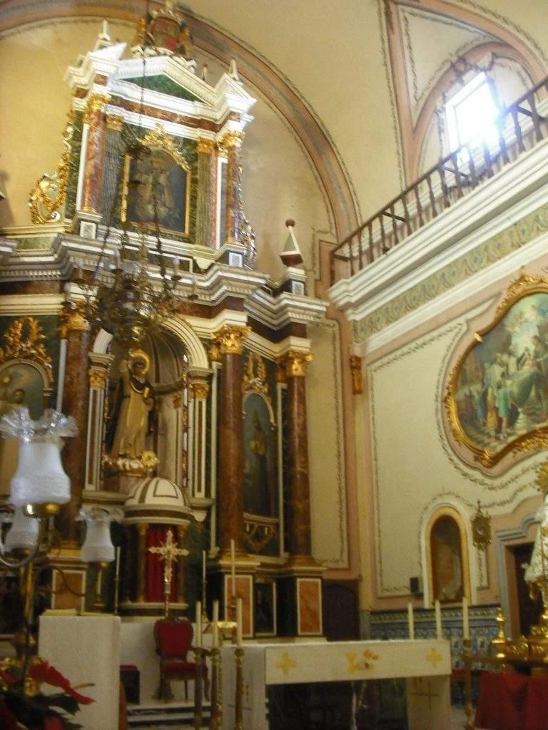 parroquia de san vicente ferrer algimia de alfara