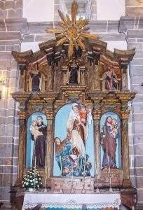 parroquia de san xurxo camarinas