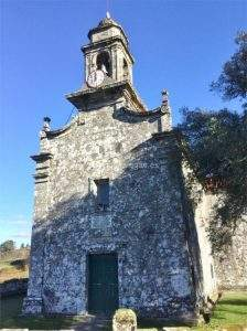Parroquia de San Xurxo de Sacos (Cotobade)