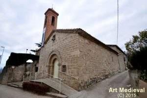 parroquia de sant bartomeu la valldan berga