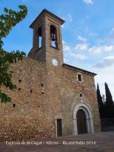 parroquia de sant cugat albons